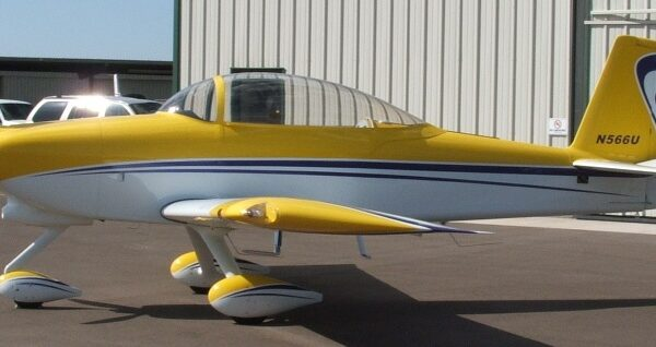 RV-8A after paint